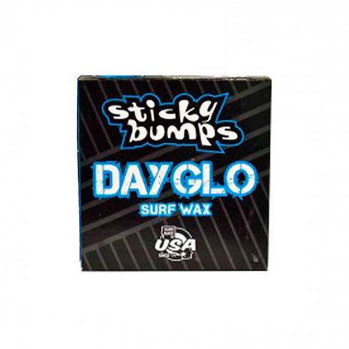 Sticky Bumps Day Glo Surf Wax - Cool/Cold