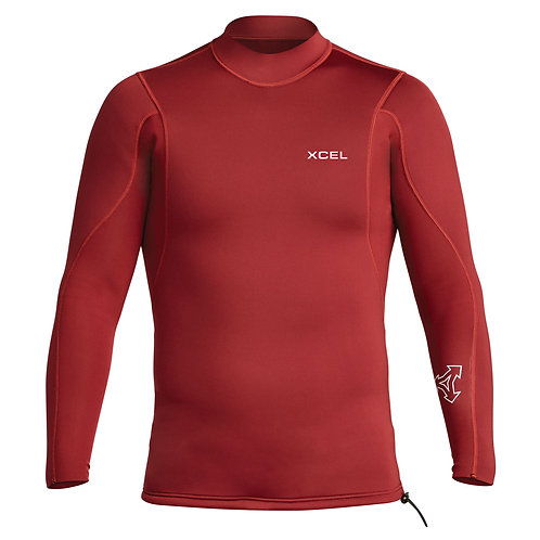 Xcel Axis Longsleeve 2/1mm Wetsuit Jacket - Chilli