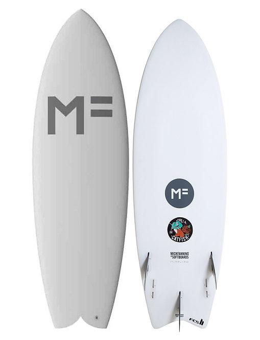 "MF Catfish White 5'8"" FCS II"