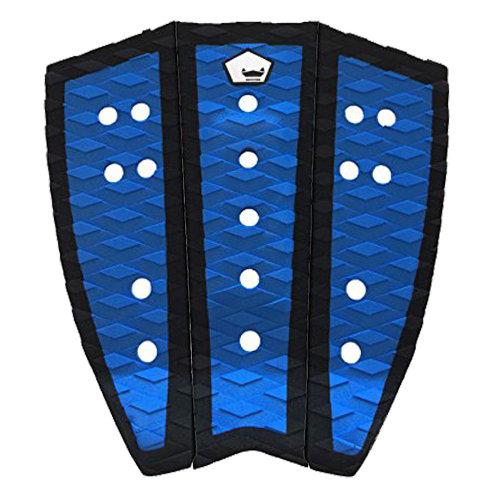 WYZA The Muddy Surfboard Tailpad - Black & Blue
