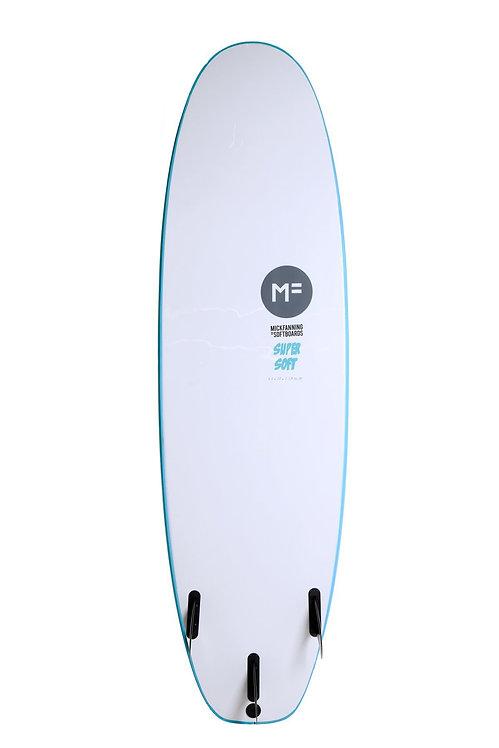 """MF Super Soft 8'0"""" Aqua"""