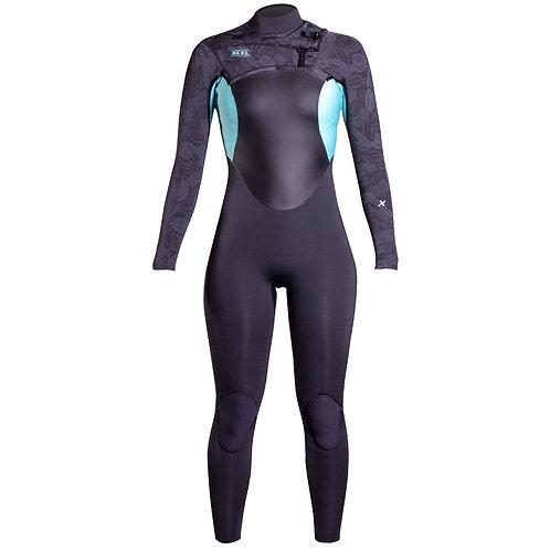 Xcel Axis X Wetsuit 4/3mm Womens - Pistachio - 8T