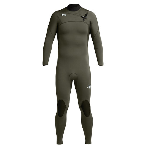 Xcel Comp Wetsuit 3/2mm - Forest Green