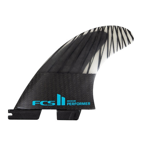 FCS II Performer PC Carbon + AirCore Tri Fins