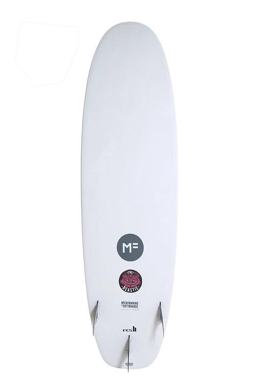 "MF Beastie 7'6"" White FCS II"