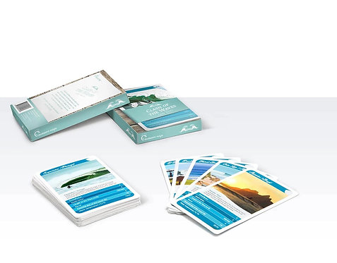 Clash of the Waves Card Game