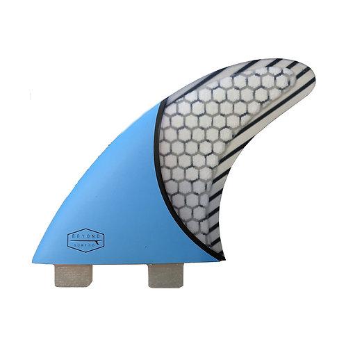 Beyond Surf Co. Tri Fins - Blue