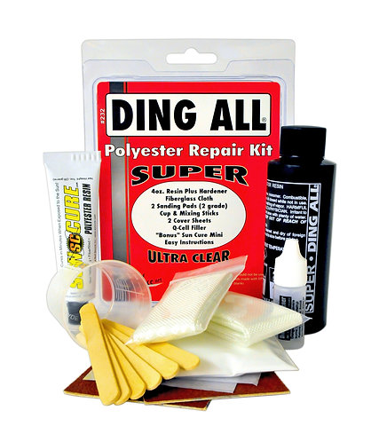Ding All Super Polyester Surfboard Repair Kit