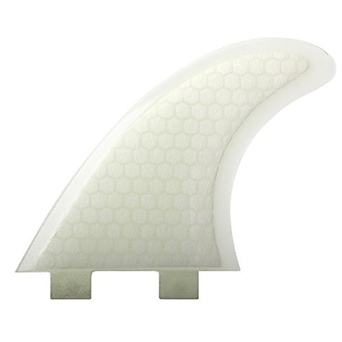 ECS FCS Compatible M-5 Template Tri Fin Set - White