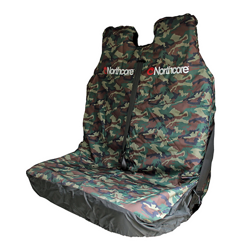 Northcore Van Seat Cover Double - Camo