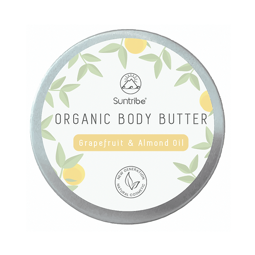 Suntribe Organic Body Butter Grapefruit & Almond Oil 150ml