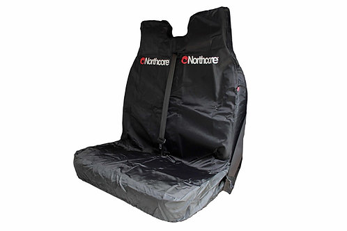 Northcore Van Seat Cover Double - Black