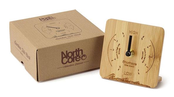 Northcore Bamboo Tide Clock - Desk Top