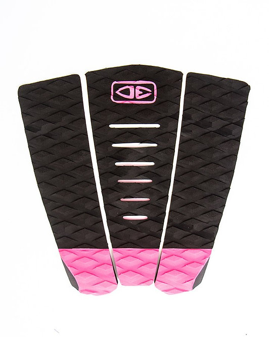 Ocean & Earth Simple Jack Surf 3 Piece Traction Pad - Pink