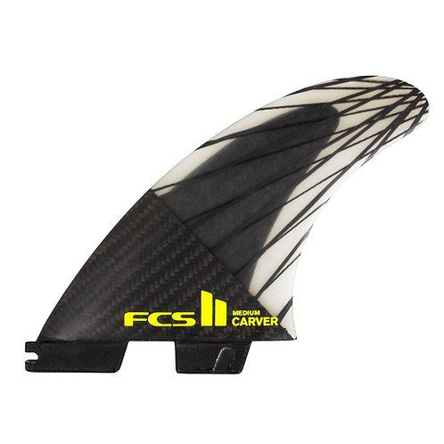 FCS II Carver PC Carbon +AirCore Tri Fins