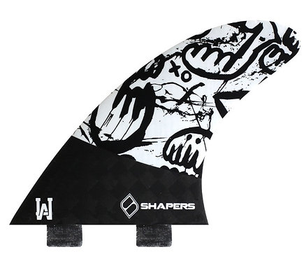 Shapers Carbon Flare Lee Wilson Tri Fin Set