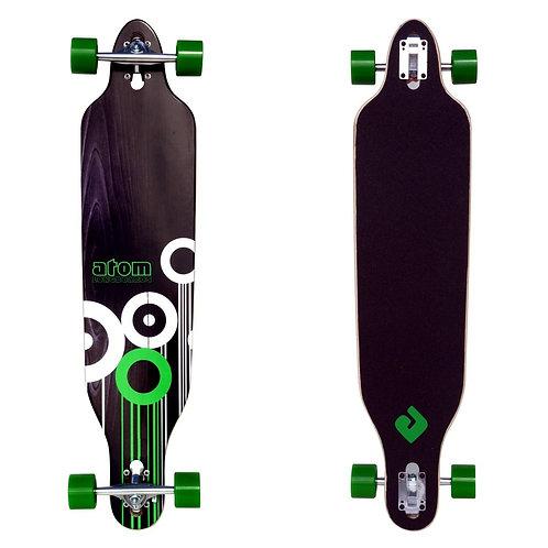 Atom Drop Deck Longboard - 41 Inch (Green)
