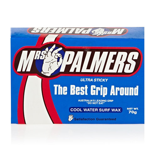 Mrs Palmers Ultra Sticky Surf Wax - Cool Water