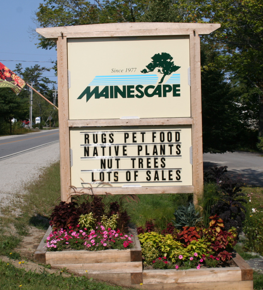 Mainescape Sign