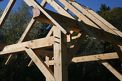 Liberty Construction - Blue Hill, Maine - Timber Frames