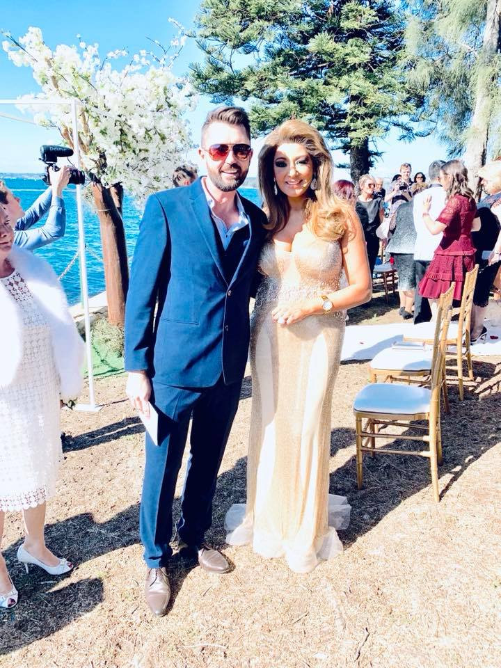 Real Housewife of Melbourne Gina Liano as a marriage celebrant