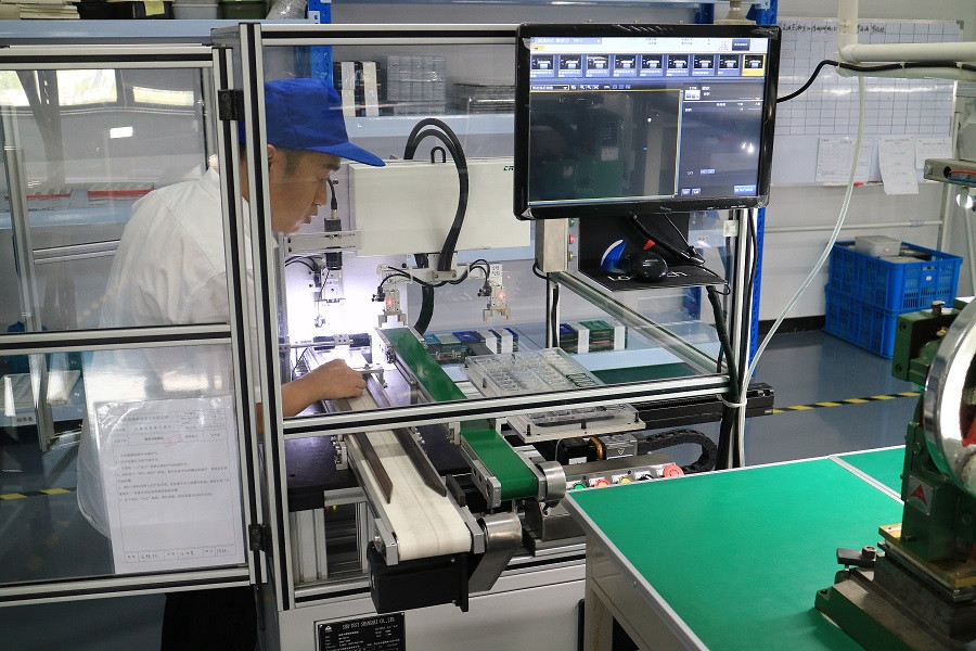 Razor Blade Quality Control Machine