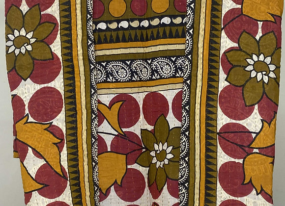 Mini Kantha Blanket