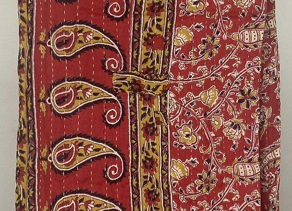 Kantha Sari Table Runner