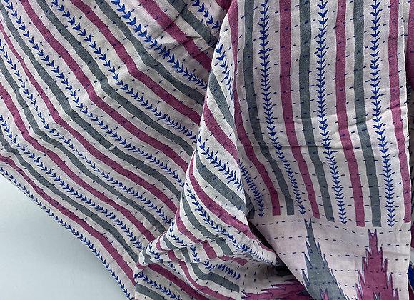 Rokia S. Mini Kantha Blanket