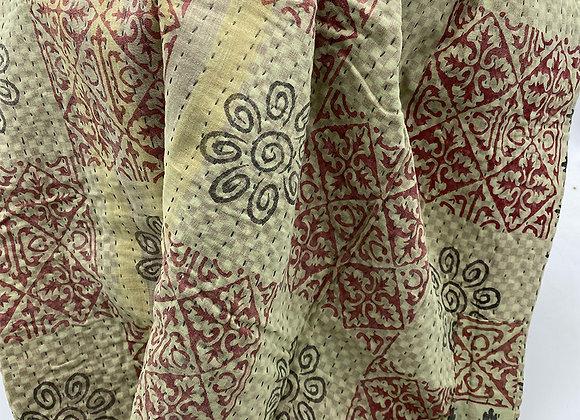 Momtaj Mini Kantha Blanket #1