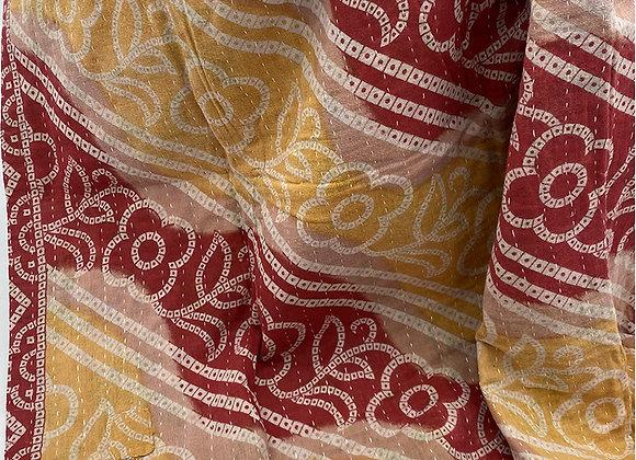 Begum Mini Kantha Blanket #2