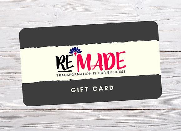 Gift Certificate - Online