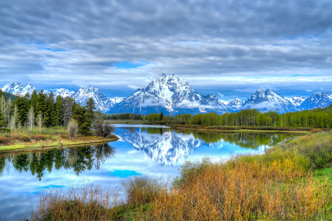 Yellowstone and the Grand Teton National Parks