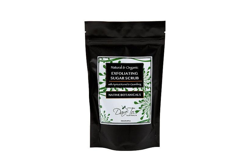 Organic Exfoliating Sugar Scrub