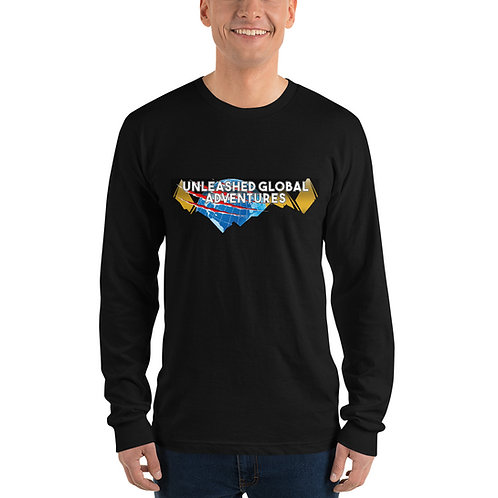 Unleashed Global Adventures Logo Long Sleeve T-Shirt