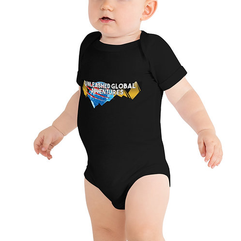 Unleashed Global Adventures Baby One Piece