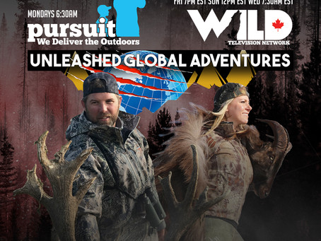 """New TV Show """"Unleashed Global Adventures"""" Showcasing Hunts You Can Book and Conservation Efforts!"""