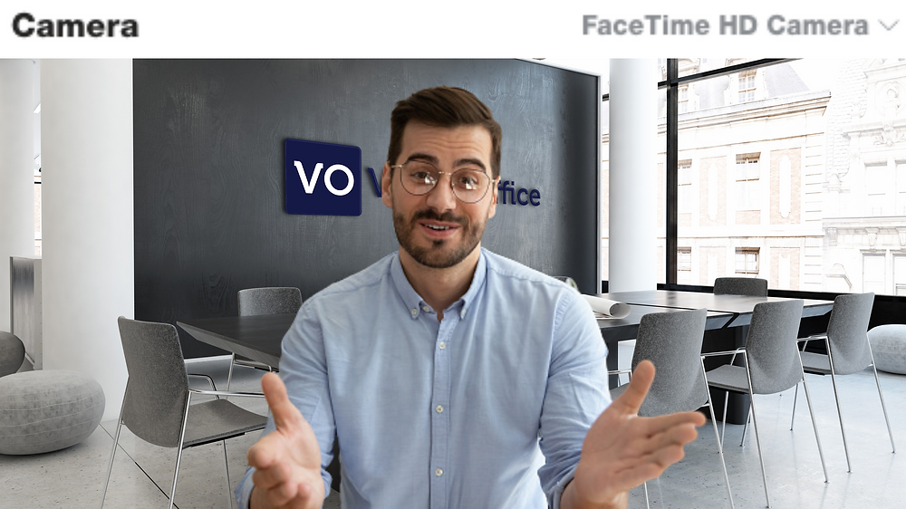 Virtual background for Skype meeting