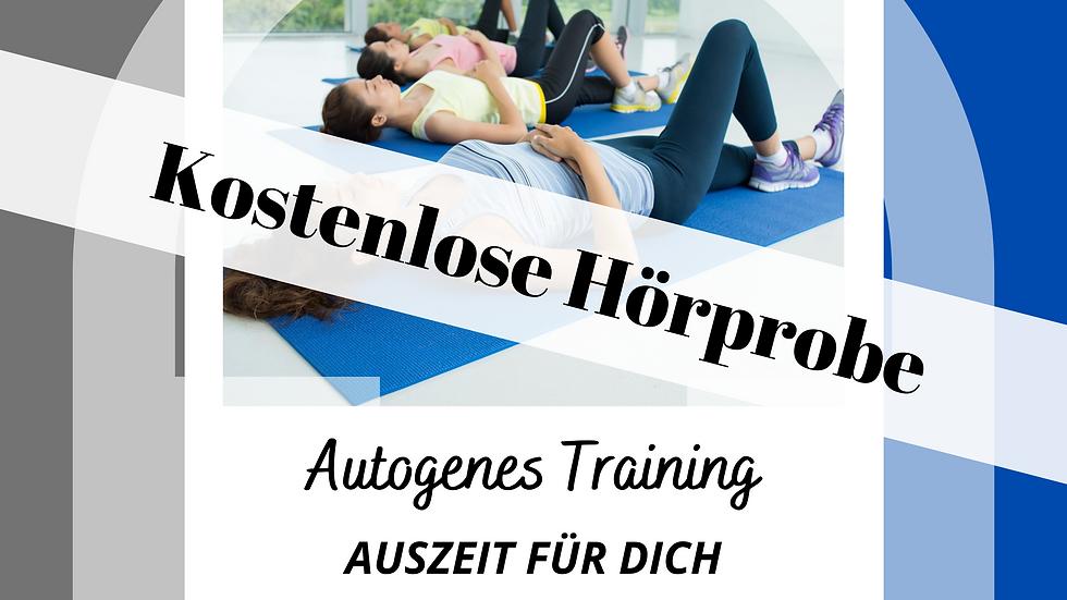 Audiokurs Autogenes Training