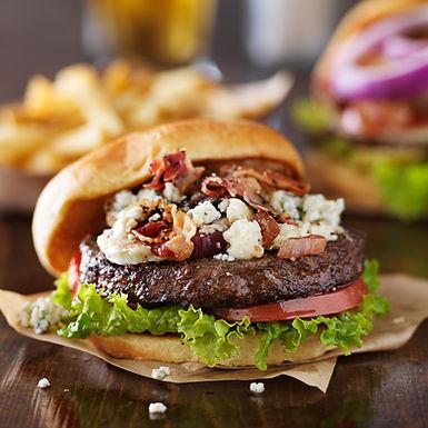 Smokey Blues Burger