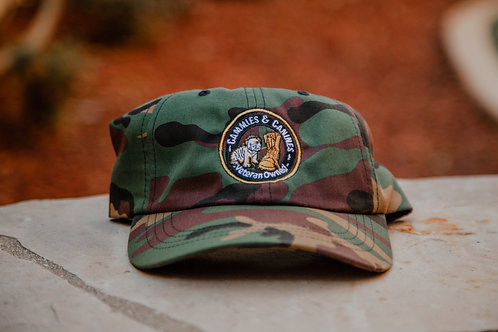 Cammies & Canines Hat (Camo)