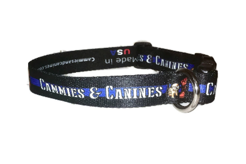 Police Lives Matter Dog Collar