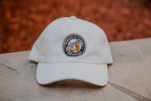 Cammies & Canines Hat (White)