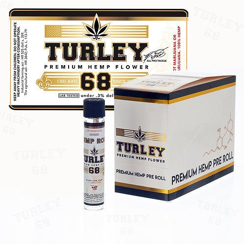 Turley Hemp Pre-Roll Box  (Ds)