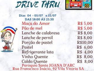 Quermesse Drive Thru!!!