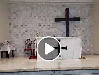 Transmissão Missa 11º Domingo do Tempo Comum - 14/06/2020