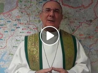 Mensagem do nosso bispo Dom Pedro Carlos Cipollini