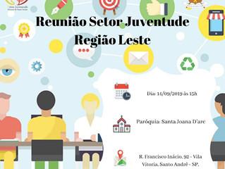 Reunião Setor Juventude - Região Leste