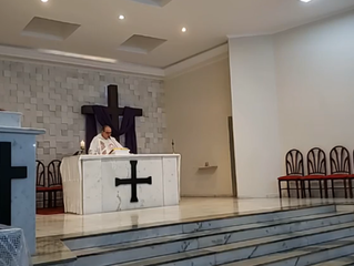 Transmissão Missa de São José 20/03