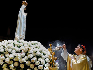 """Fátima: """"A bênção de Maria chama-se Jesus"""""""